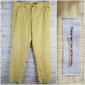 Pilcro and The Letterpress Anthropologie Pants 31